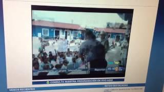 Protesta en Filomeno Mata
