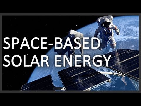 Alternative energy in space?