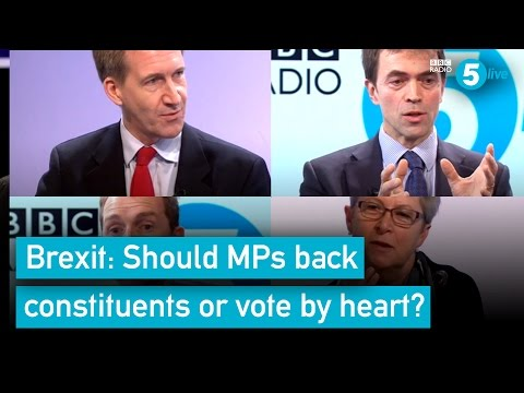 Brexit: Should MPs back constituents, or vote by heart?