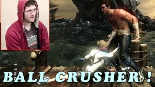 Repeat youtube video Ball Crusher ! Predator, Jason, Fatalities  -  Let's Play Mortal Kombat X with Alex # 1