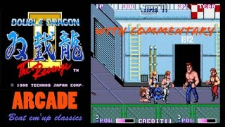 Double Dragon 2 Arcade on PS4. Walkthrough and Game Options