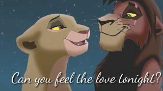 Kiara×Kovu Can you feel the love tonight?