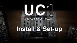 UC1 SSL Plug-in Controller Install & Set-up