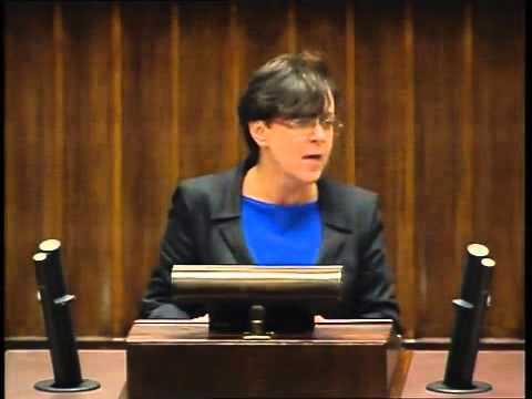 Joanna Kluzik Rostkowska - wystąpienie z 6 grudnia 2013 r.