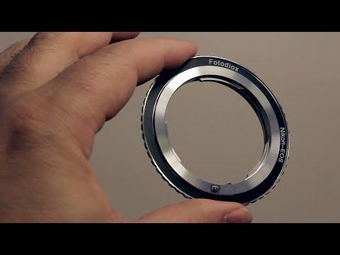 Fotodiox Nikon to EOS Adapter Review