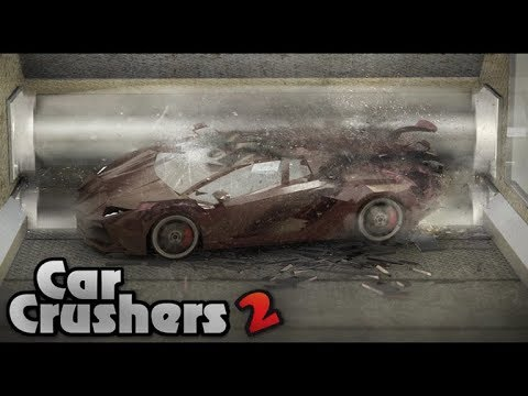 Car Crusher 2    Roblox Soo Fun