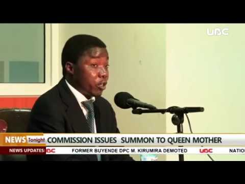 Queen mother summoned by Land commission