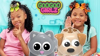 Scamper & Ranger Where Are You?  Goo Goo Girlz Play Hide and Seek with Coding Critters!