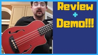 Kala Red Journeyman U-Bass Review and Demo