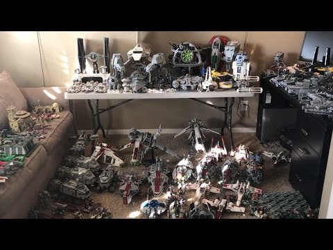 My LEGO Star Wars Collection Video! NEW 2017! (GIANT!) - Huge LEGO Star Wars Collection
