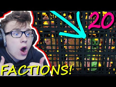 HOW TO CREEPER EGG ALL SPAWNERS!!! (NO MATTER WHAT) (Minecraft District Factions) Ep. 20