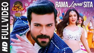 Rama Loves Seeta Full Video Song | Vinaya Vidheya Rama | Ram Charan, Kiara Advani, Vivek Oberoi