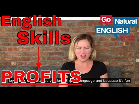 How to Make Money with English Language Skills + iTalki Lessons | Go Natural English