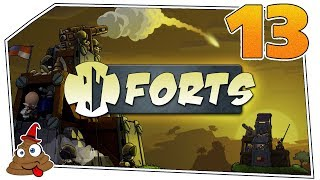 Forts #13 - Explosive Lage   Lets Play Forts deutsch german
