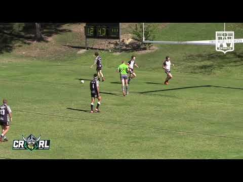 2019 Canberra RL - U19s Round 3 Highlights - Yass Magpies V North Canberra Bears