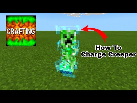 Charge Creeper With Command Block – Crafting and Building