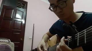 [ Hari Won] Yêu không hối hận Fingerstyle guitar cover