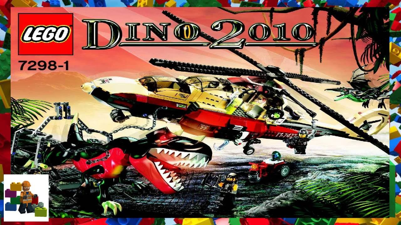 Lego Instructions Dino 7298 Dino Air Tracker Book 1 Youtube