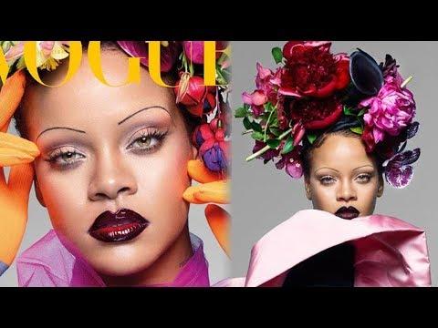 Rihanna Hints At NEW Music And Covers British Vogue