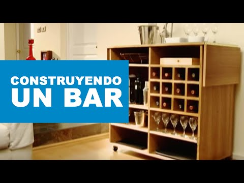 C mo construir un bar youtube for Como hacer muebles de madera