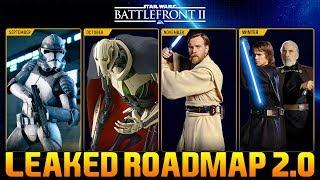 *NEW* GRIEVOUS & OBI WAN RELEASE DATES & MORE Star Wars Battlefront 2