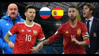 РОССИЯ-ИСПАНИЯ КАК БОЛЕЛИ В УКРАИНЕ. SPAIN VS RUSSIA WORLD CUP 2018