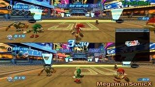 Sonic Riders: Zero Gravity - Multiplayer with MegamanSonicX!