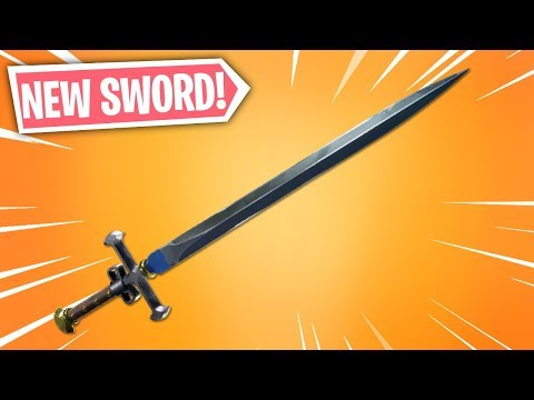 A NEW Sword In Fortnite.. (Medieval Sword)