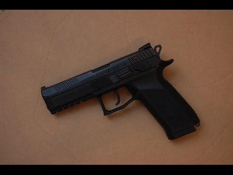 CZ P-09/P-07 backstrap changing