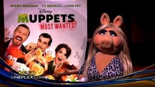 Miss Piggy, The Muppets Most Wanted - Cineplex Interview