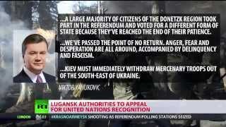 Venice, E.Crimea, Donetsk and others vote for self-rule while EU and US vote for slavery