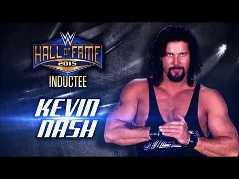 2015 WWE Hall Of Fame: 9th Inductee: Kevin Nash - YouTube