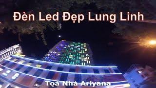Những Toà Nhà Trang Trí Đèn Led Đẹp Lung Linh Ở Nha Trang