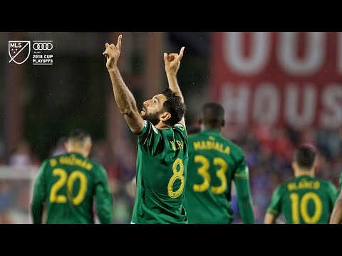 Diego Valeri | Dallas 1, Timbers 2 | Audi MLS Cup Playoffs | Oct. 31, 2018