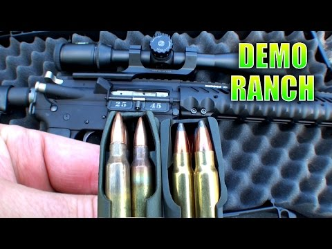 Heavy Hitting AR15 Bullet