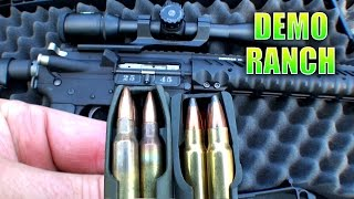 Heavy Hitting AR15 Bullet