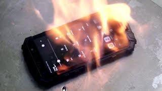 The Smartphone That Can Survive ANYTHING! Fire Vs Smartphone