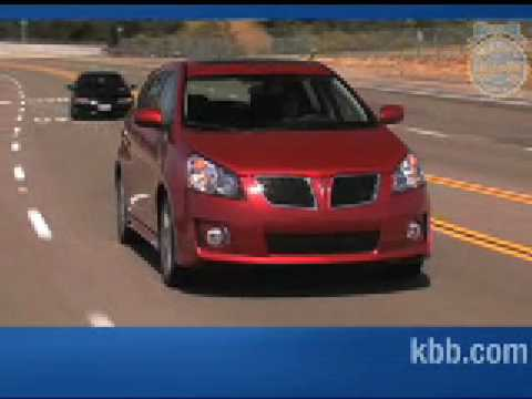 2009 Pontiac Vibe Review Kelley Blue Book