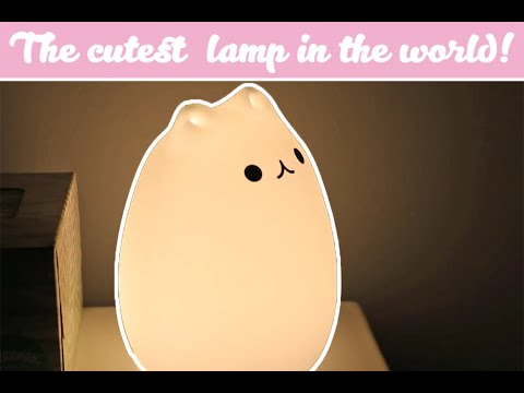 THE CUTEST KAWAII CAT LAMP EVER! (you'll Love It!)