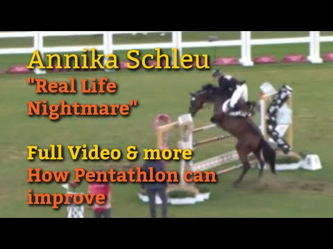 Annika Schleu - Saint Boy - get the full video, what happened, and why pentathlon needs to change