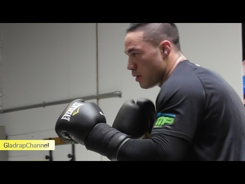 Media Workout - Joseph Parker Training for southpaw Jason Be