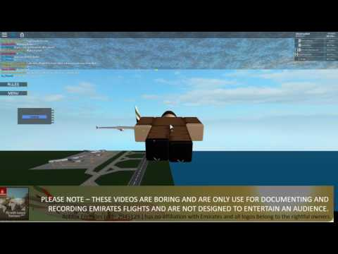ROBLOX EMIRATES I Pilot Training Log [Read Desc]