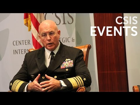 Maritime Security Dialogue with Admiral Kurt Tidd