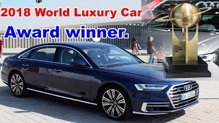 2019 Audi A8.  Here's why new A8 poses a genuine threat to S-Class & 7-Series.
