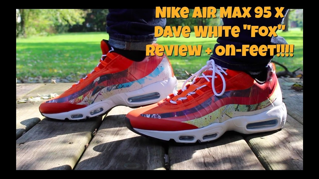 quality design f37c5 128e1 Nike Air Max 95 x Dave White
