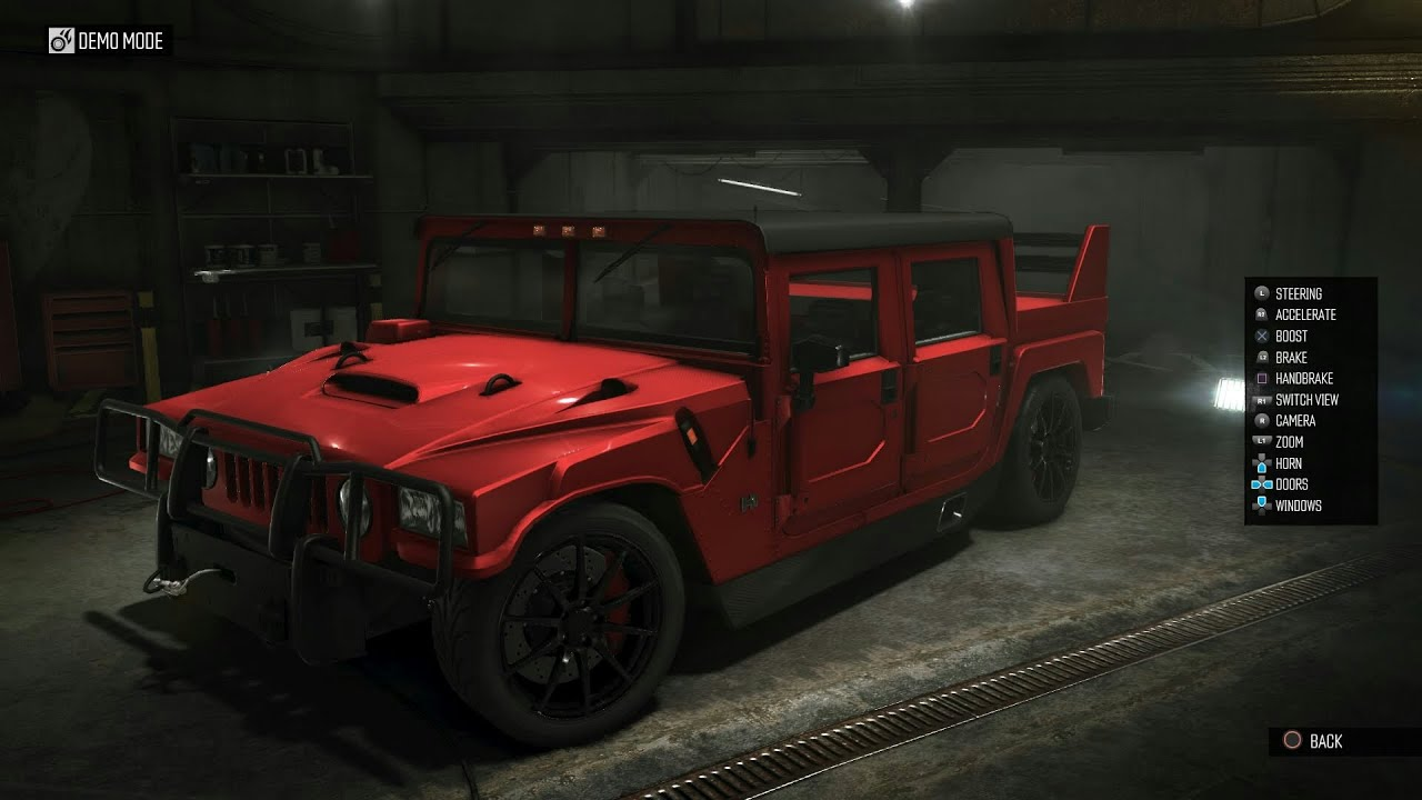 The Crew Hummer H1 Alpha Perf Spec Gameplay Youtube