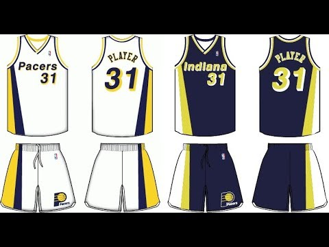 cheap for discount cc1a1 b7ec2 How to make Indiana Pacers Uniforms 90-97 NBA 2K17