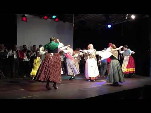 Bailes populares.Jota de Santa Ana (Linares) y Rolde (Mirambel)