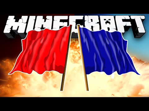 Minecraft Snapshot: 3v3 CAPTURE THE FLAG! - w/Preston, BajanCanadian & Vikkstar123!