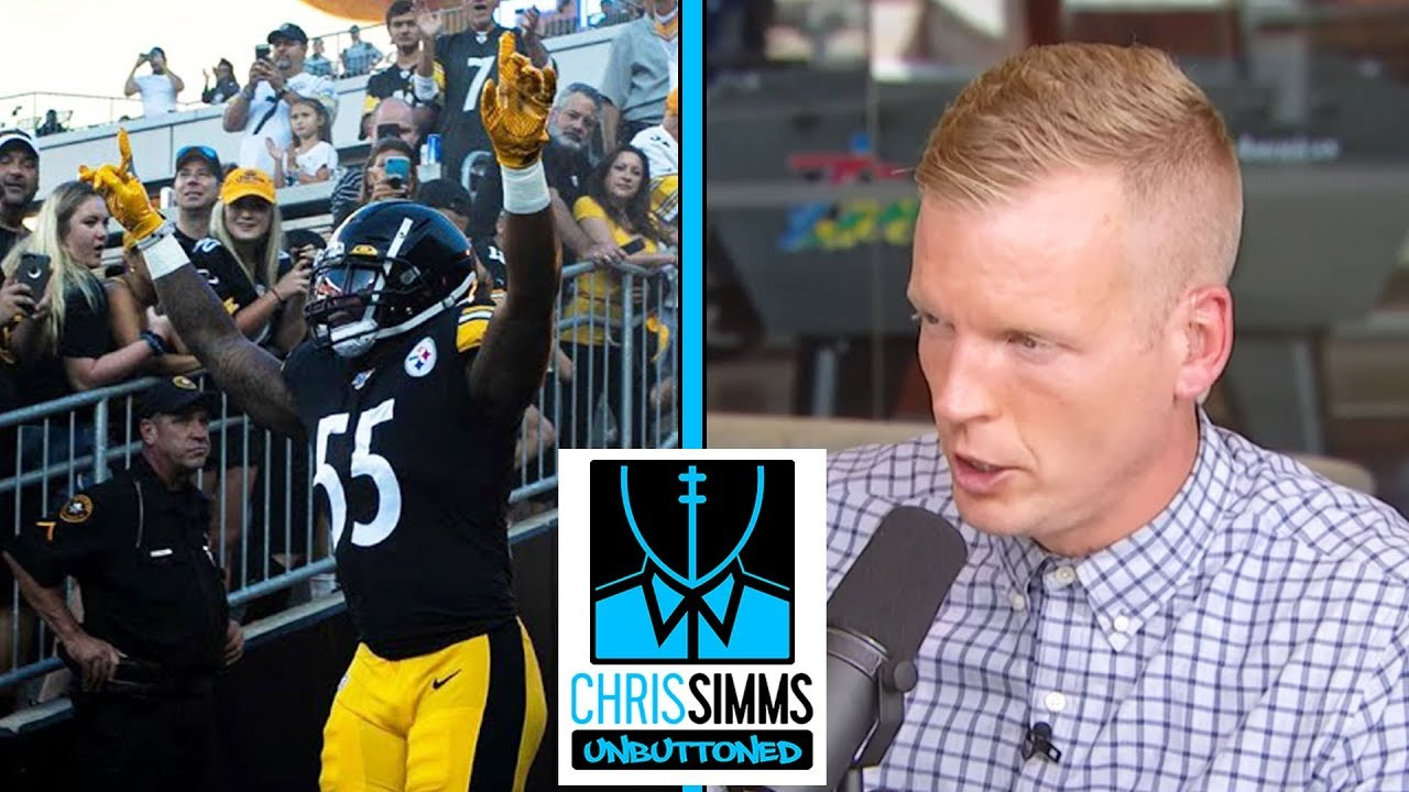 Rookie film review: Stock up on Pittsburgh Steelers LB Bush   Chris Simms Unbuttoned   NBC Sports